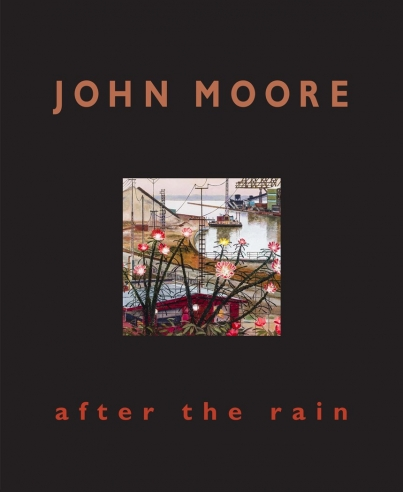 """image of the cover to exhibition catalogue, John Moore, """"After the Rain"""""""