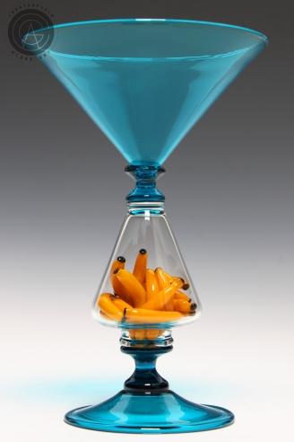 Blue Banana Goblet