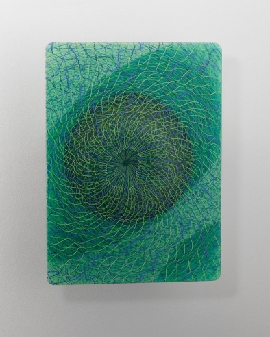 Extroverre Green and Blue Wall Piece