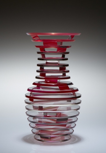 Middy Polished Plate Glass Vase #5