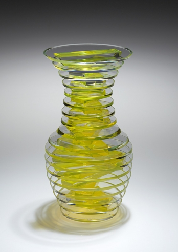 Middy Polished Plate Glass Vase #9