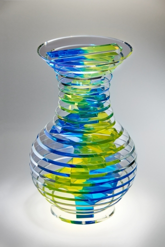 Middy Polished Plate Glass Vase S2 #4