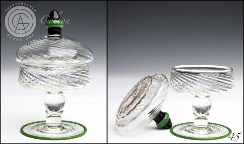 Untitled (Small Green Jar)