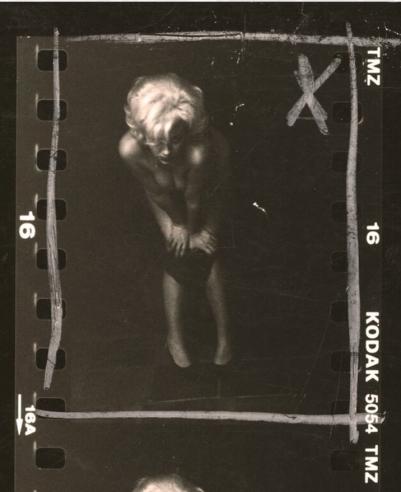 Marilyn Bending over