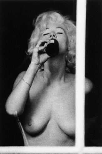 Marilyn Drinking