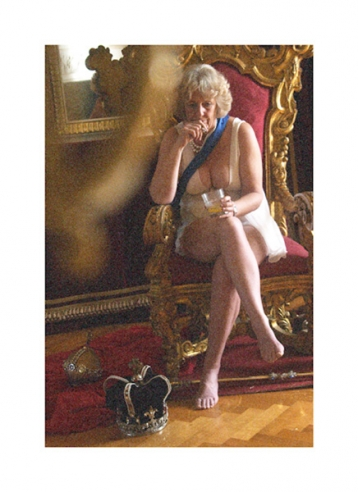Camilla on the Throne