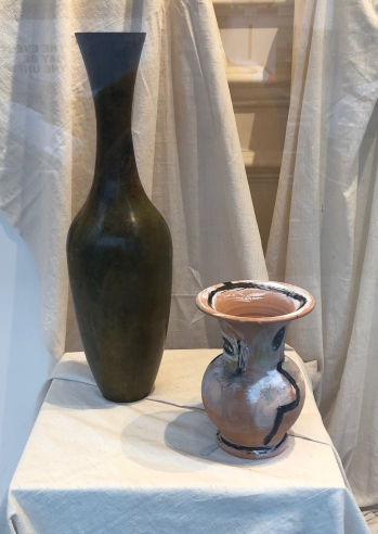 Verde Olivo Vase