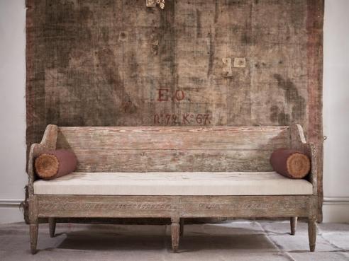 Early 19th C. Swedish Sofa