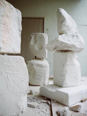 Dream Stones in Plaster