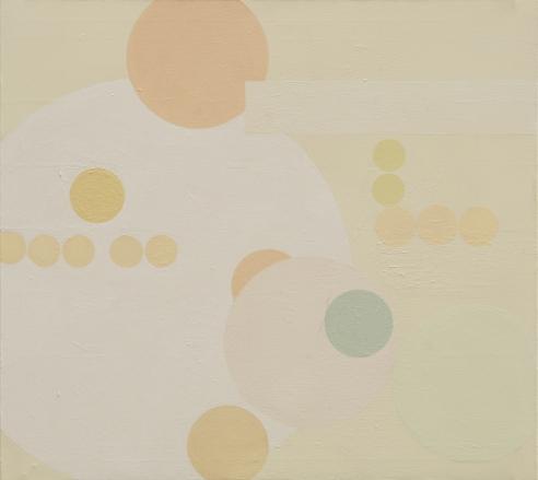 """31.25"""" x 28"""" Acrylic on Canvas"""