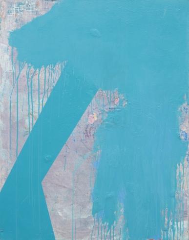 """56"""" x 44"""" Acrylic on Canvas"""