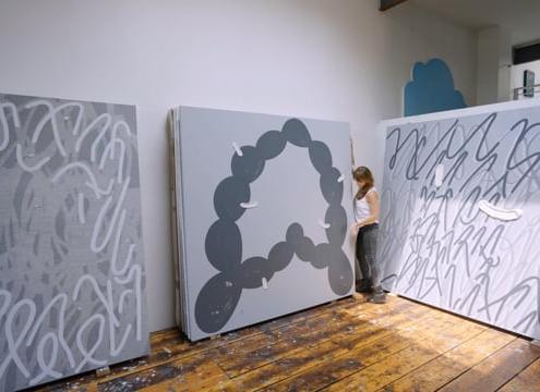 Amy Feldman in the Studio
