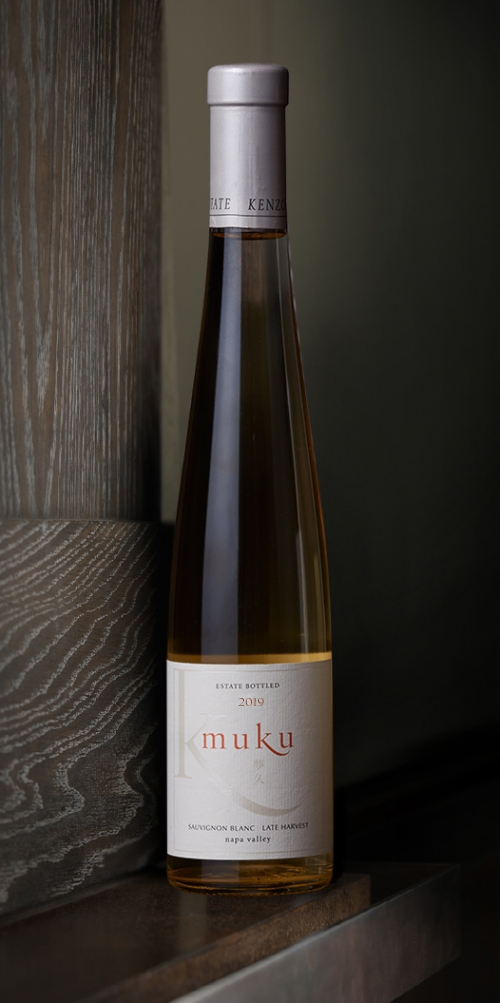 Kenzo Estate half-bottle muku sweet Late Harvest Sauvignon Blanc Napa Valley white wine