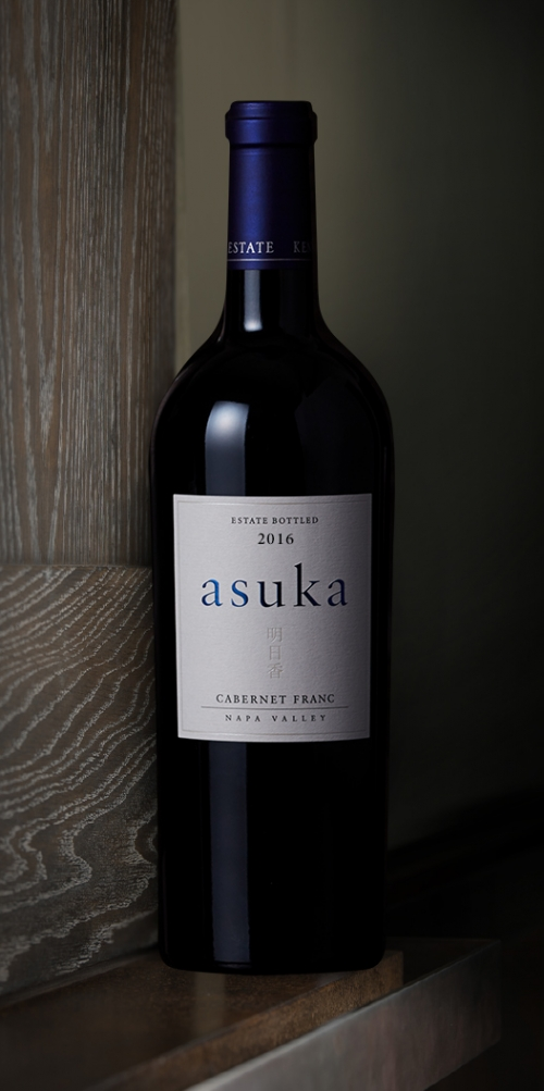 red wine asuka cabernet franc Napa Valley