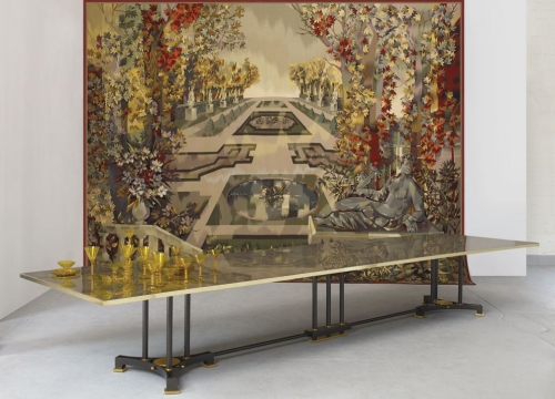 Medy roc dining table