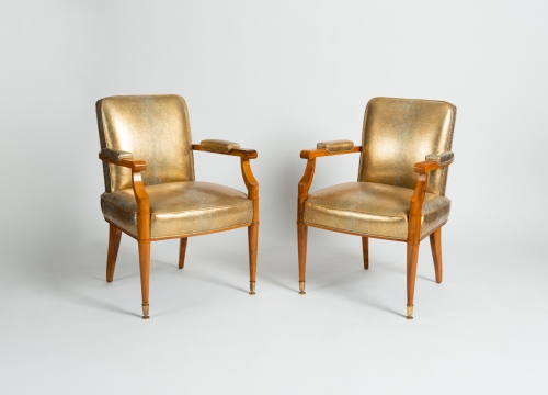 Pair of Neoclassical Armchairs