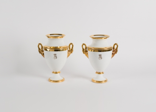 Pair of French Restoration Era Vases