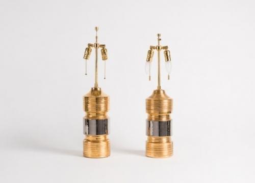 Pair of Bittossi lamps