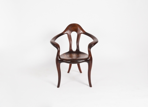 Contemporary Open-Arm Chair