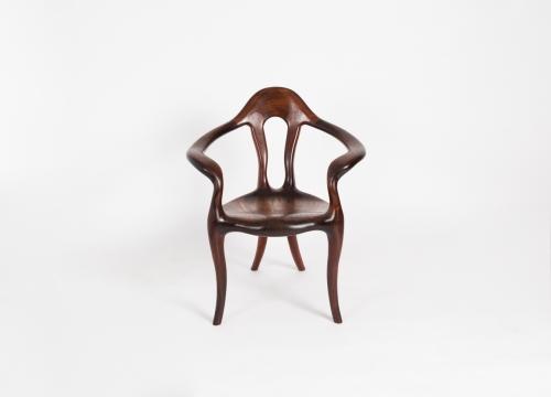 Contemporary Open-Arm Chair