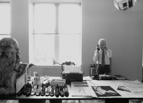 Warhol portrait