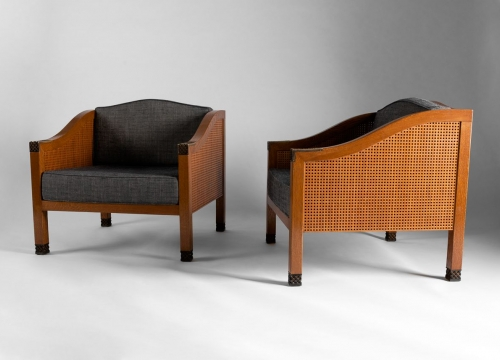 Louis Cane Chairs