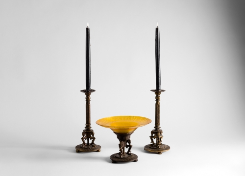 Bach Candlesticks & Centerpiece