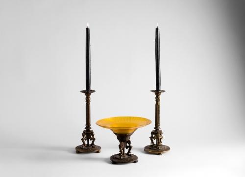 Bach Candlesticks & Centerpiece