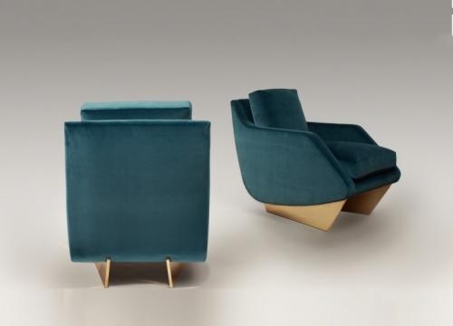 Whalebone armchairs