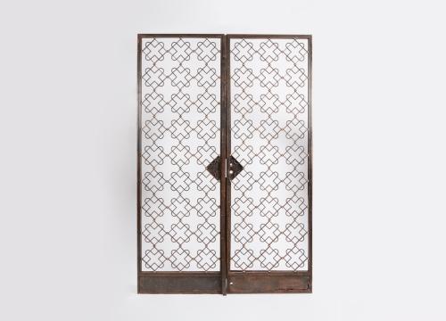 Two Panel Screen Doors