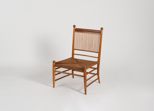 Low Spindle-Back Side Chair