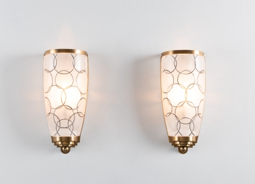Cristal Benito Sconces