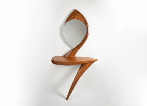 Coffey console/mirror
