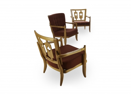 Guillerme et Chambron armchairs