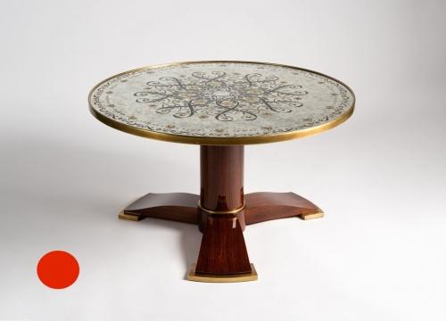 Table Maison Leleu Eglomise