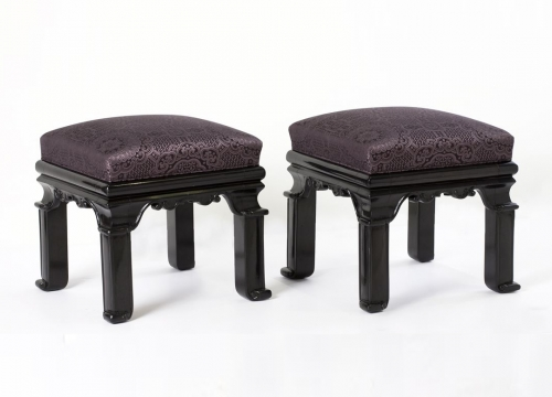 Pair of Orientalist Stools