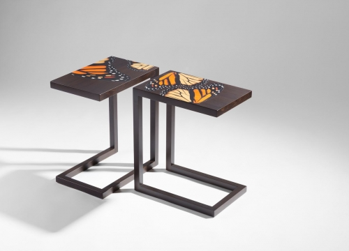 zelouf and bell side tables