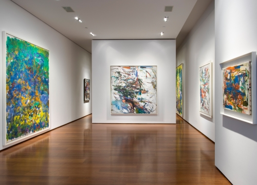 Joan Mitchell: At the Harbor and in the Grande Vallée
