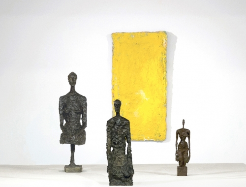 Giacometti, Twombly, West