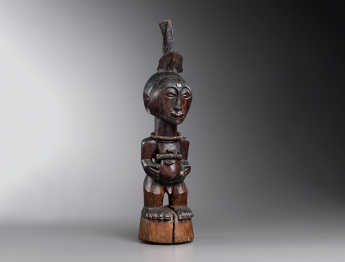 Songye Power Figure from the Democratic Republic of Congo