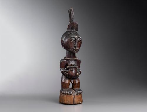 Songye Power Figure from the Democratic Republic of Congo
