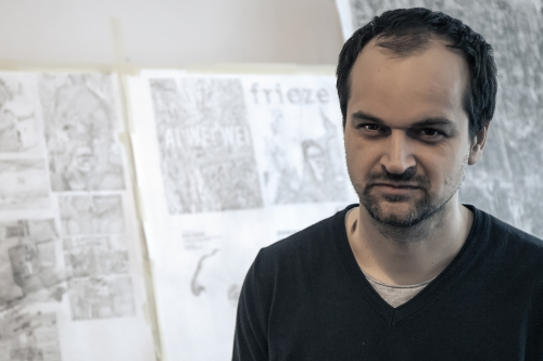 Ciprian Muresan to participate in the 2017 Venice Biennale |  Guerlain Drawing Prize Nomination | David Nolan Gallery Exhibition