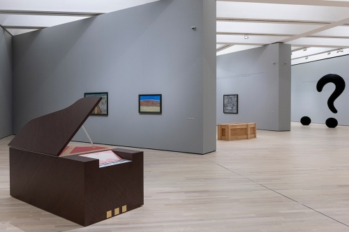 Richard Artschwager at MART, Museum of Modern and Contemporary Art of Trento and Rovereto, Italy