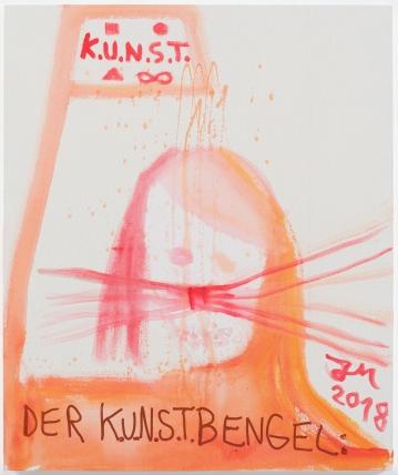 Jonathan Meese at Sies + Höke - DIE NACKTESTE FREIHEIT DER KUNST