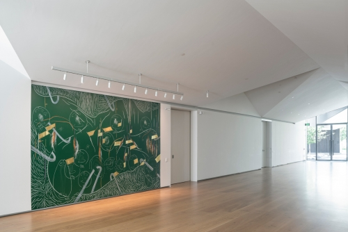 Curator Talk with Edouard Kopp on Jorinde Voigt's Vertical at the Menil Drawing Institute