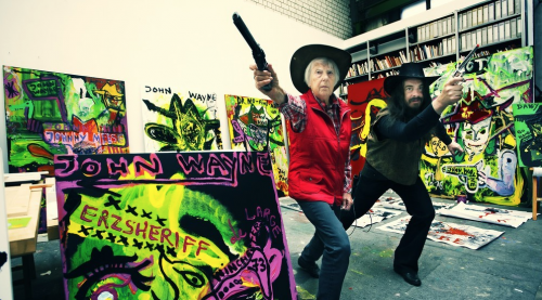 Jonathan Meese at St. Peter's Church and Günter Grass House - Dr. Home: Art (two part solo exhibition)