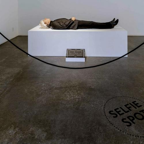 Here Died Andy Warhol