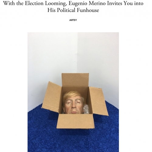 With the Election Looming, Eugenio Merino Invites You into His Political Funhouse