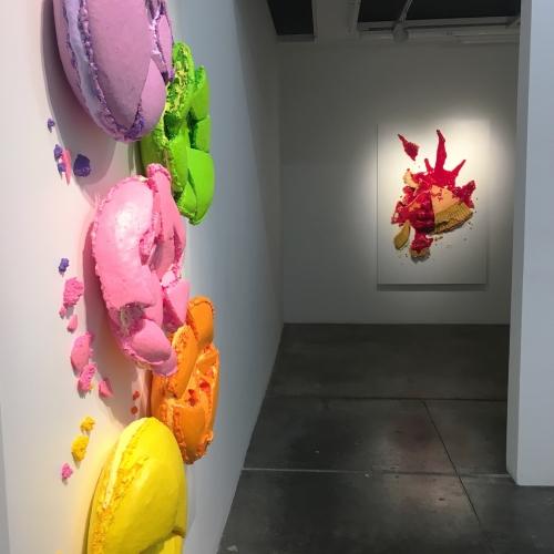 Artist Peter Anton and His Sugary Nightmare