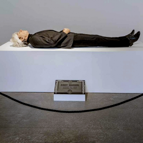 Here Died Warhol: A Sensational Experience By Eugenio Merino
